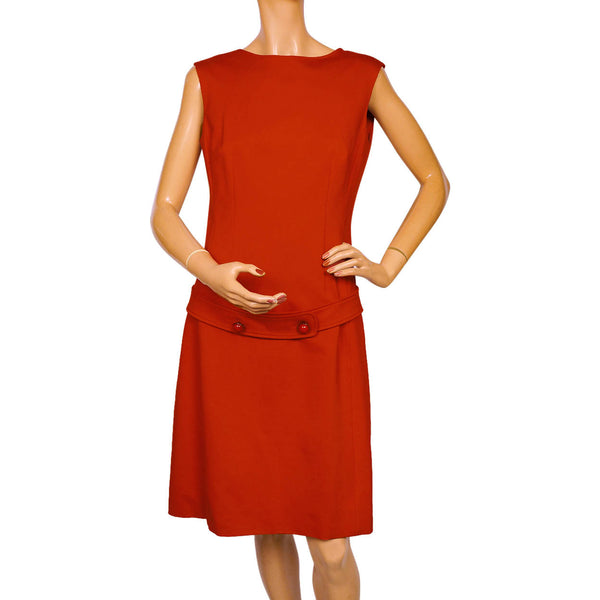 Vintage-Moschino-Cheap-and-Chic-1990s-Red-Dress
