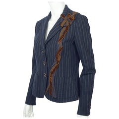 Moschino Cheap and Chic Pinstripe Jacket