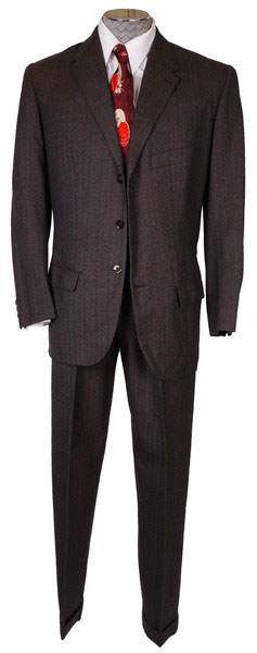 1950s Mens Suit Vintage Hand Tailored Jacket & Pants Made in Egypt Size M 38/40