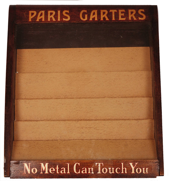 Vintage-Paris-Garters-Mens-Socks-Store-Display-Case