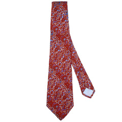 Woven Silk Necktie 1970s Vintage Tie The Persian Shop New York Gorgeous Quality - Poppy's Vintage Clothing