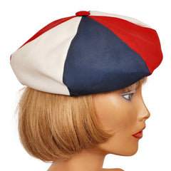 Vintage-Red-White-and-Blue-Beret-Hat