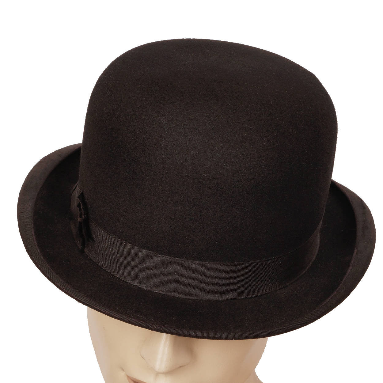 6ecd991eef5 Vintage Mens English Bowler Derby Hat Ross  amp  Co London XXL 7 3 4