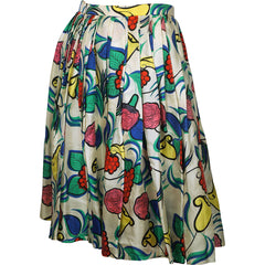 Early-60s-Saks-Fifth-Avenue-Floral-Printed-Silk-Skirt