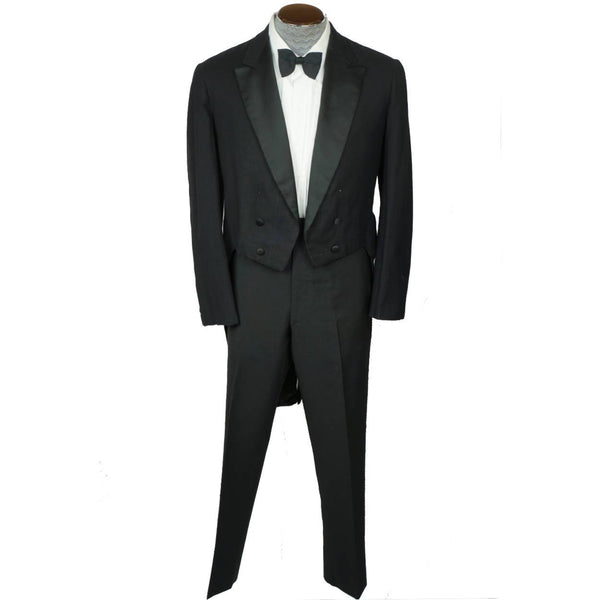 Antique-Semi-Ready-Tuxedo-Tailcoat