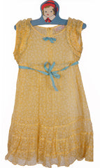 Shirley Temple 1930s Doll Dress Girls Dress Size 6 - Poppy's Vintage Clothing