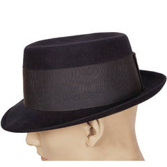 Vintage-Royal-Stetson-Pork-Pie-Hat-Side-View