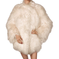 Vintage-Tibetan-White-Lamb-Fur-Coat-
