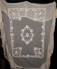 Antique Victorian Lace Bedspread