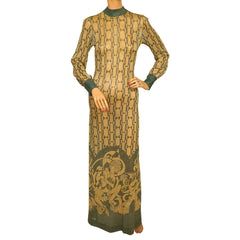 1970s-Metallic-Lame-Evening-Gown-Pelilla-Italy