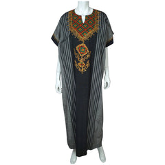 Vintage Caftan Egyptian Galabeya Dress