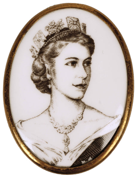 Royal-Worcester-Bone-China-Queen-Elizabeth-Coronation-Pin