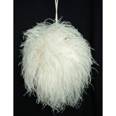 Vintage-White-Ostrich-Feather-Muff