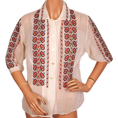 Vintage-Serbian-Yugoslavia-Embroidered-Blouse