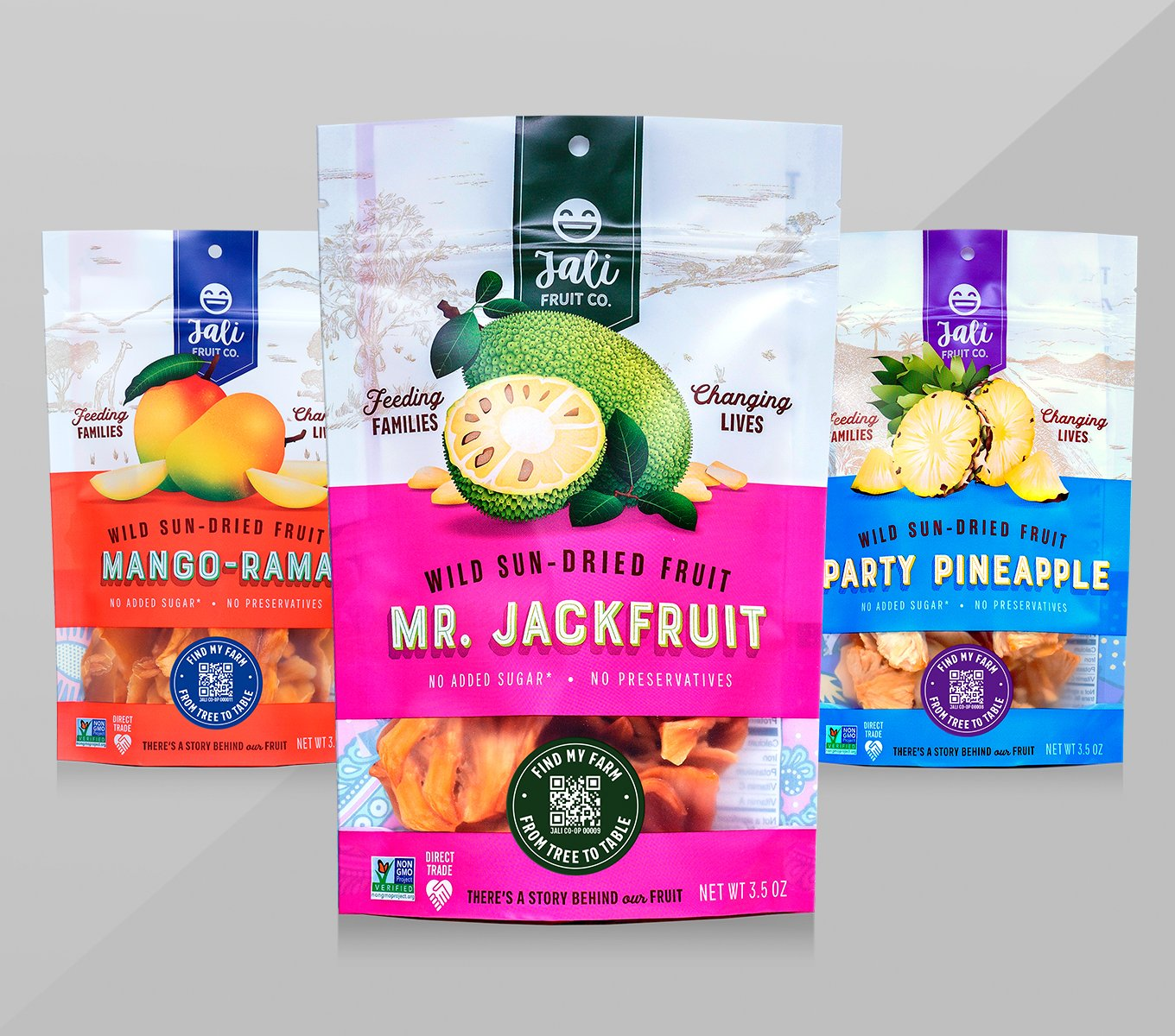 Mr. Jackfruit and Friends Pack The Jali Fruit Co.