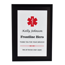 Load image into Gallery viewer, Emergency Worker Appreciation Plaque