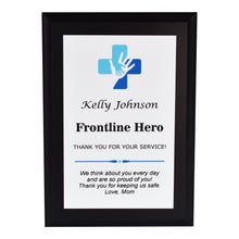 Load image into Gallery viewer, Healthcare Appreciation Plaque