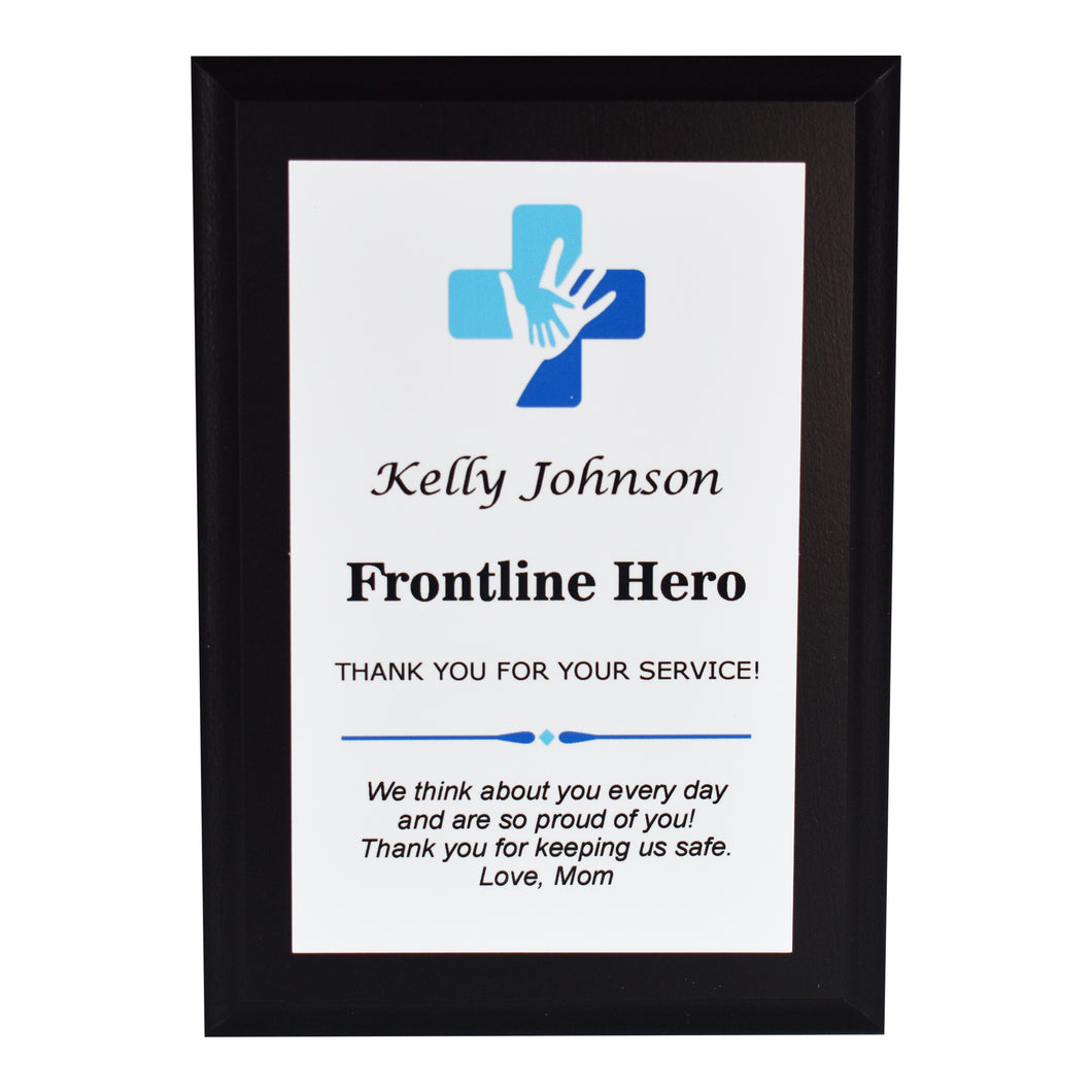 Healthcare Appreciation Plaque