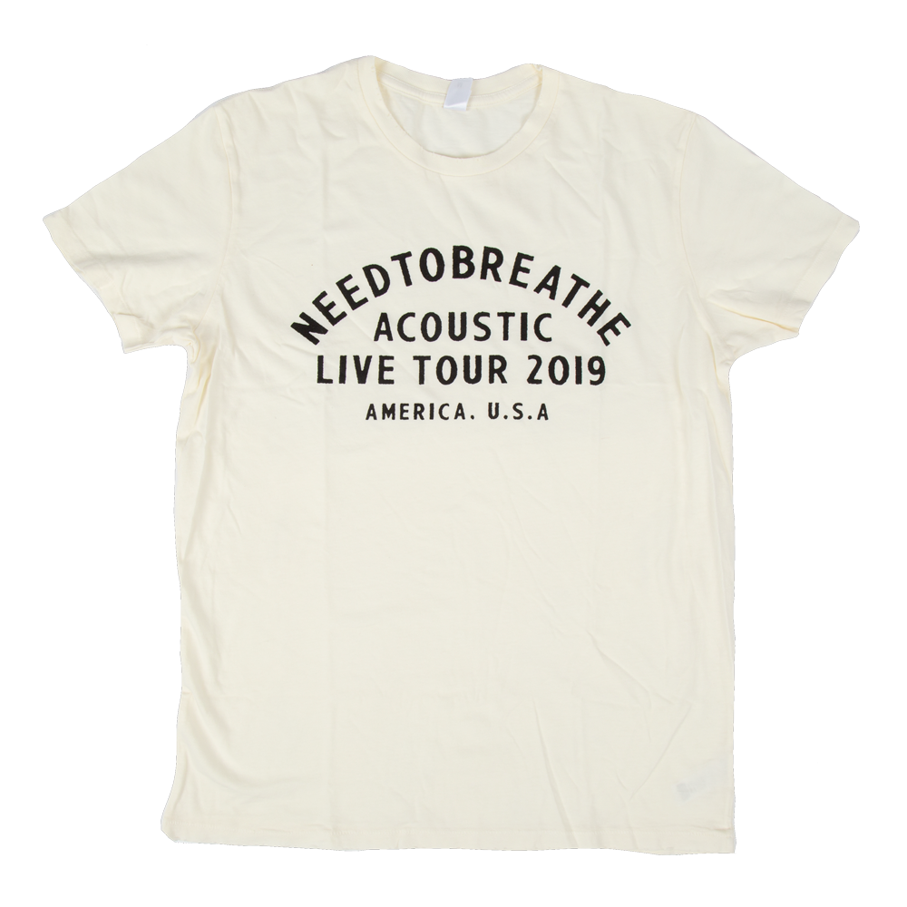 Acoustic Live Tour '19 T-Shirt