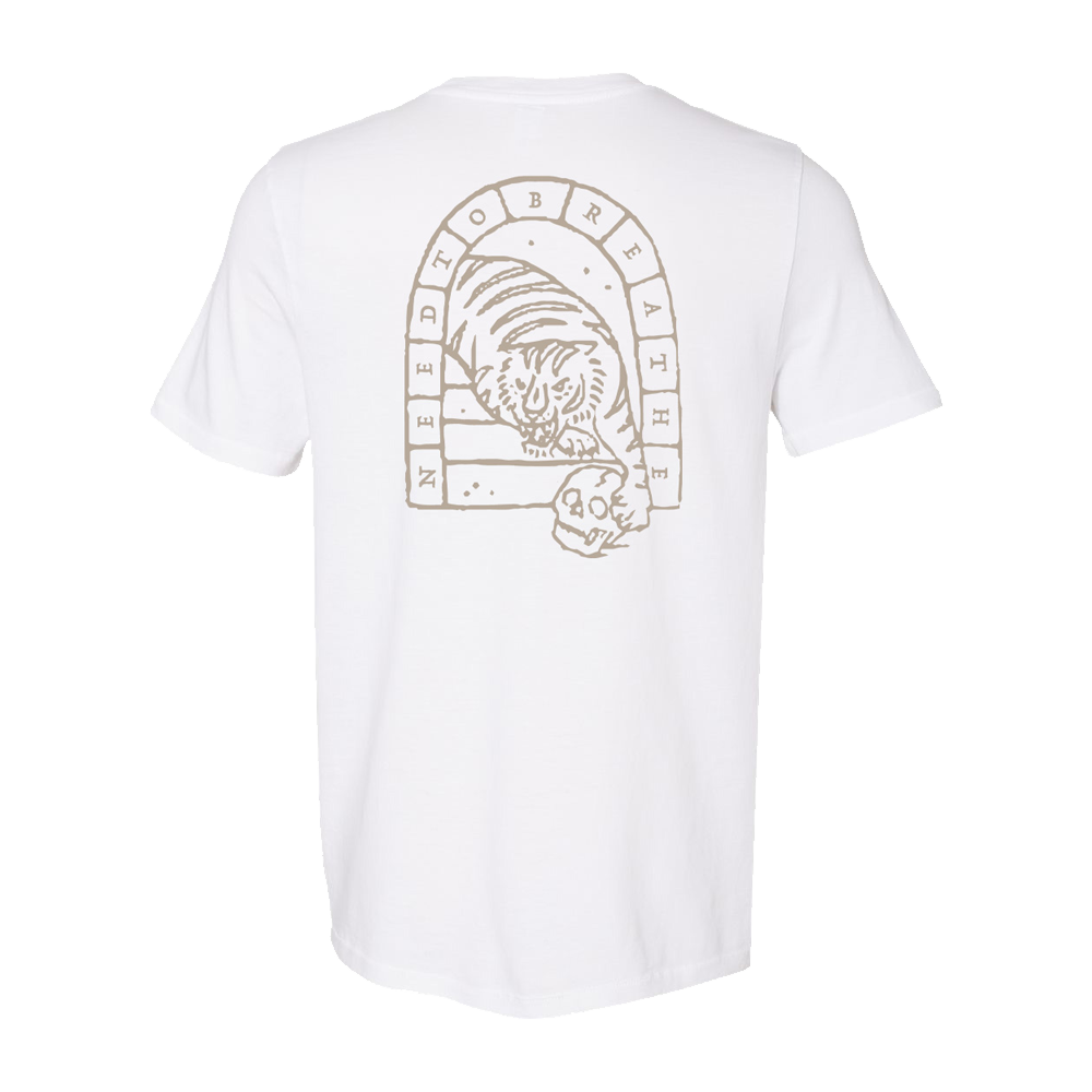 NTB Tiger/Skull White T-Shirt