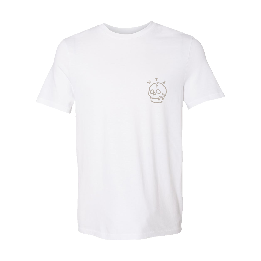 NTB Tiger/Skull Dark White T-Shirt