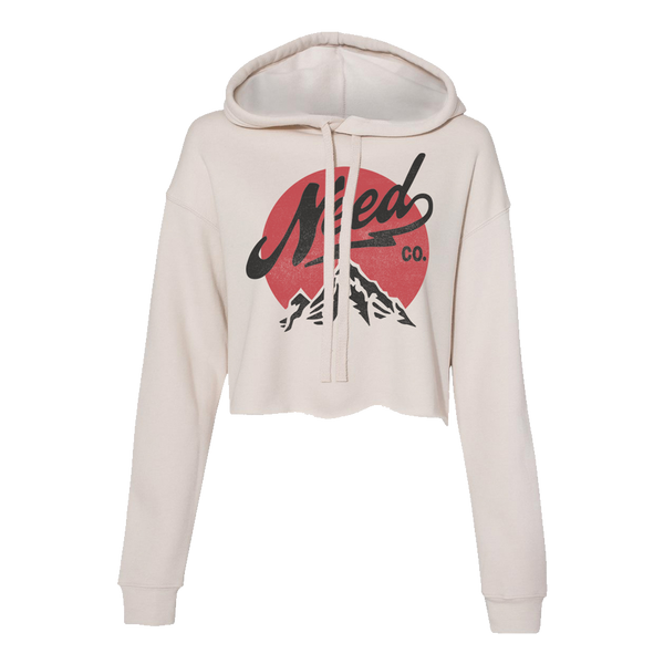 Need Co Mtn Heather Dust Cropped Hoodie