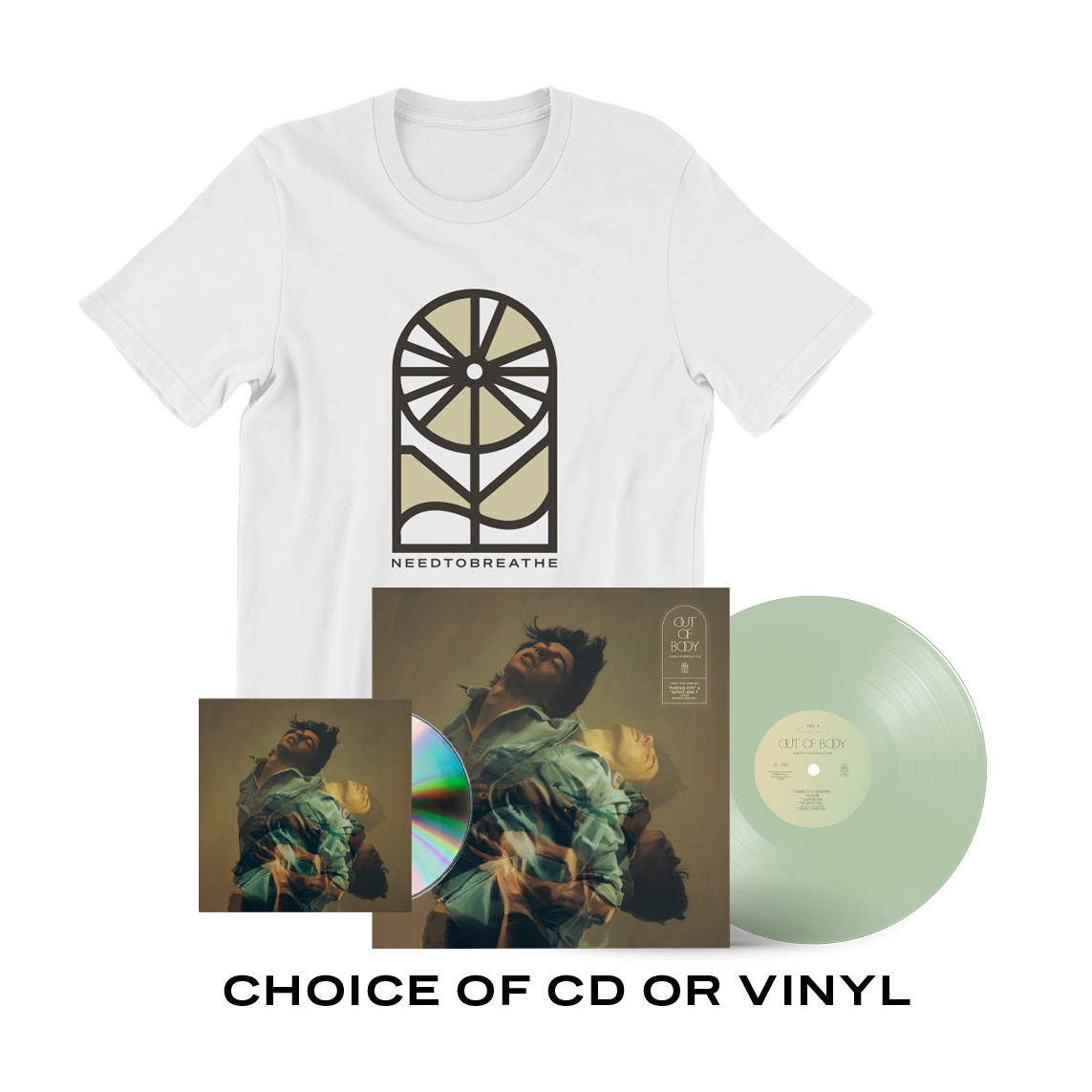 Out of Body T-Shirt Package Pre-Order