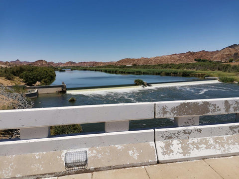 crossing the Orange River