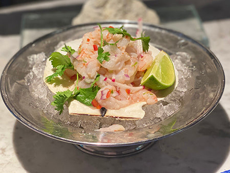 Fresh Shrimp Ceviche is Perfect for Summer!