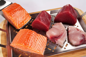 Fresh Salmon, Tuna and Swordfish