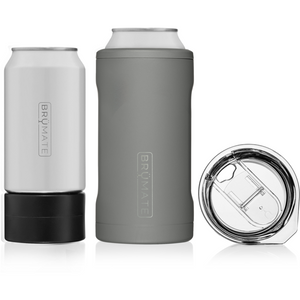 16 oz Hopsulator Trio Matte Gray