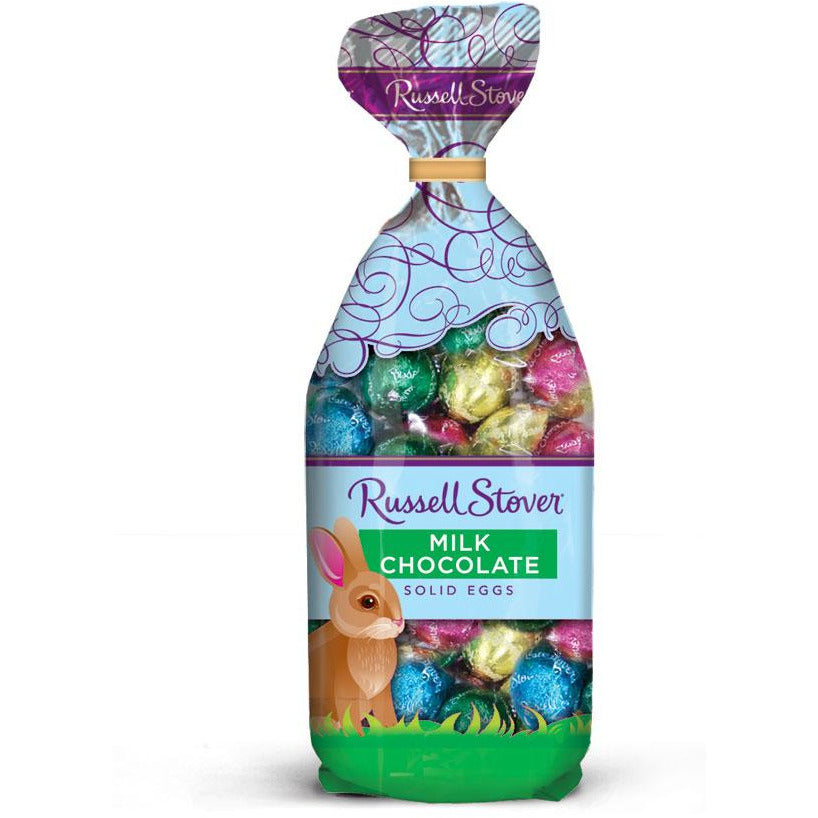 Milk Chocolate Foil Wrapped Easter Eggs 9oz