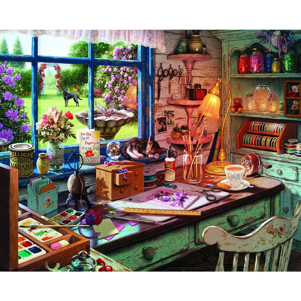 Mom's Craft Room 1000 Pc