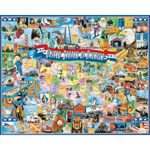 United States Of America 1000 Pc