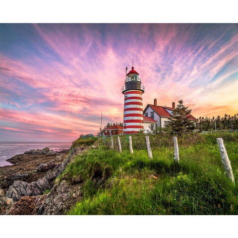 West Quoddy Head Lighthouse 1000 Pc