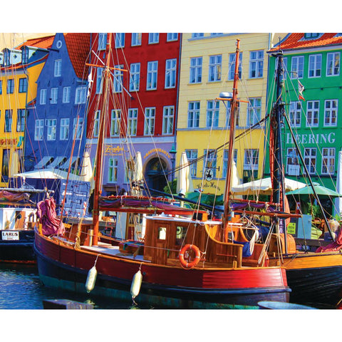 Copenhagen Waterfrnt 1000 Pc