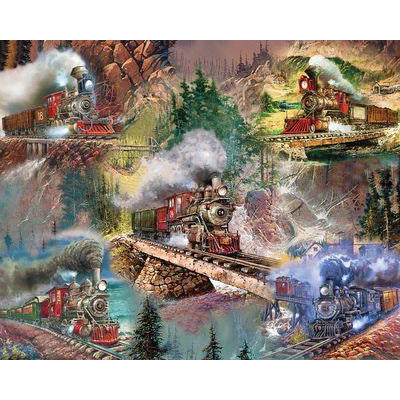 Thrilling Trains 1000 Pc