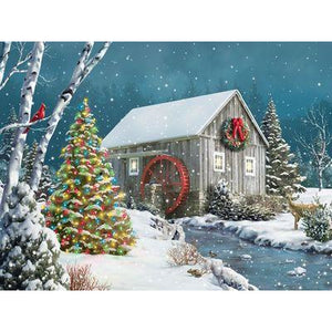 The Falling Snow 500 Pc