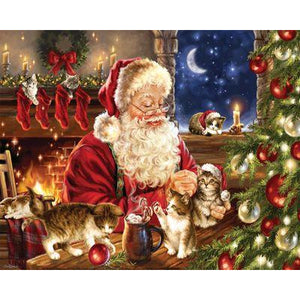 Christmas Kittens 1000 Pc