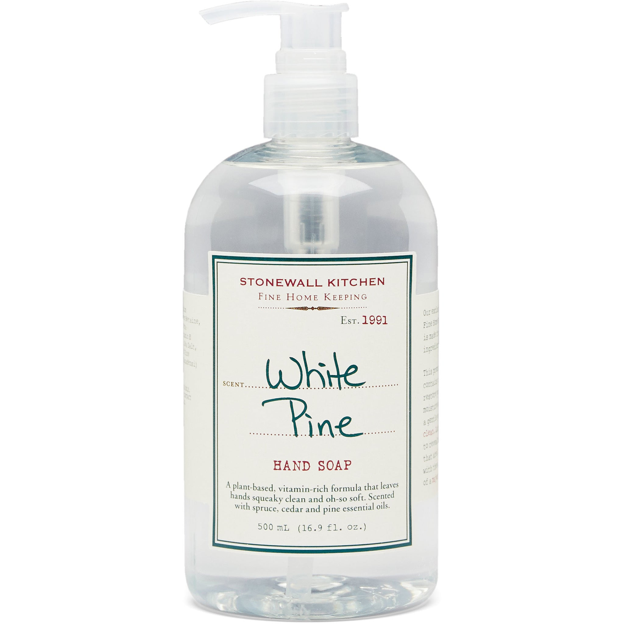 White Pine Hand Soap 16.9 oz