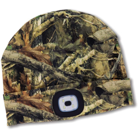 Night Scout Adult USB Rechargeable LED Beanie Hat Camo