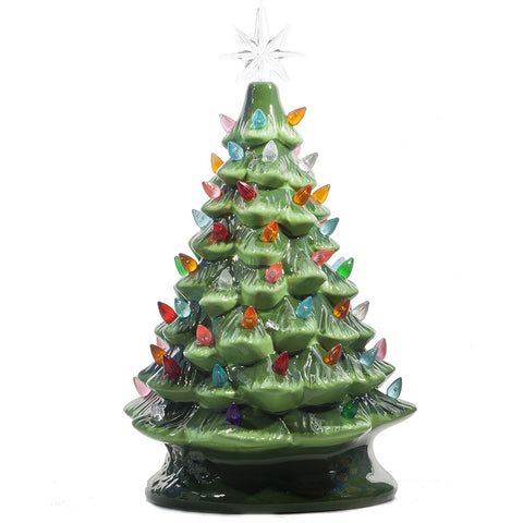 Ceramic Green Tree