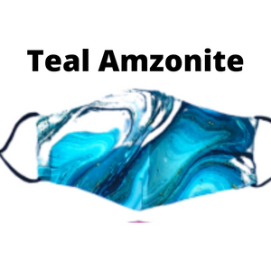 Teal Amzonite Mask