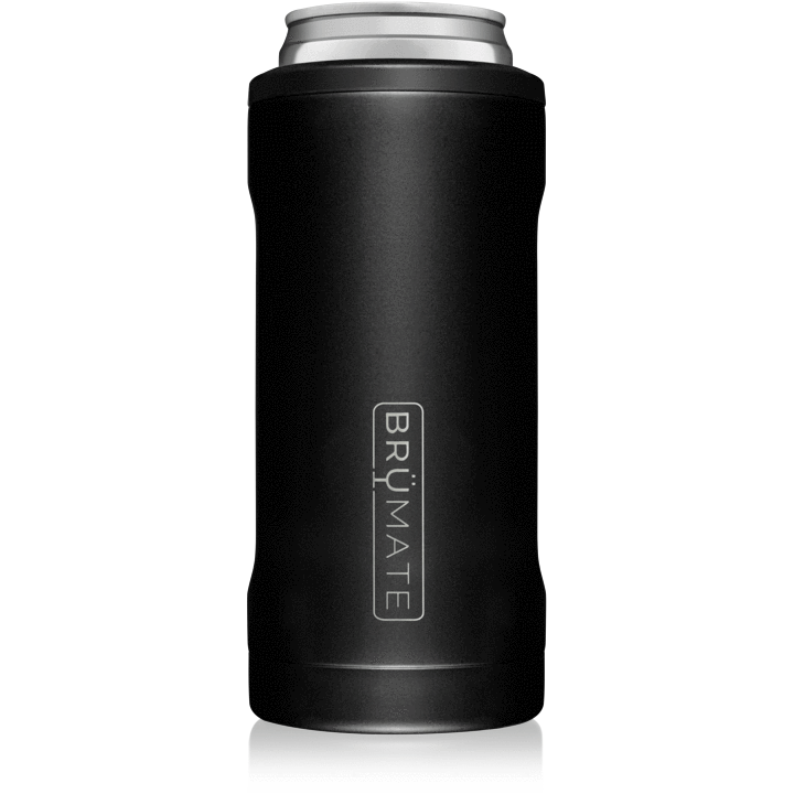 12 oz Hopsulator Slim Matte Black