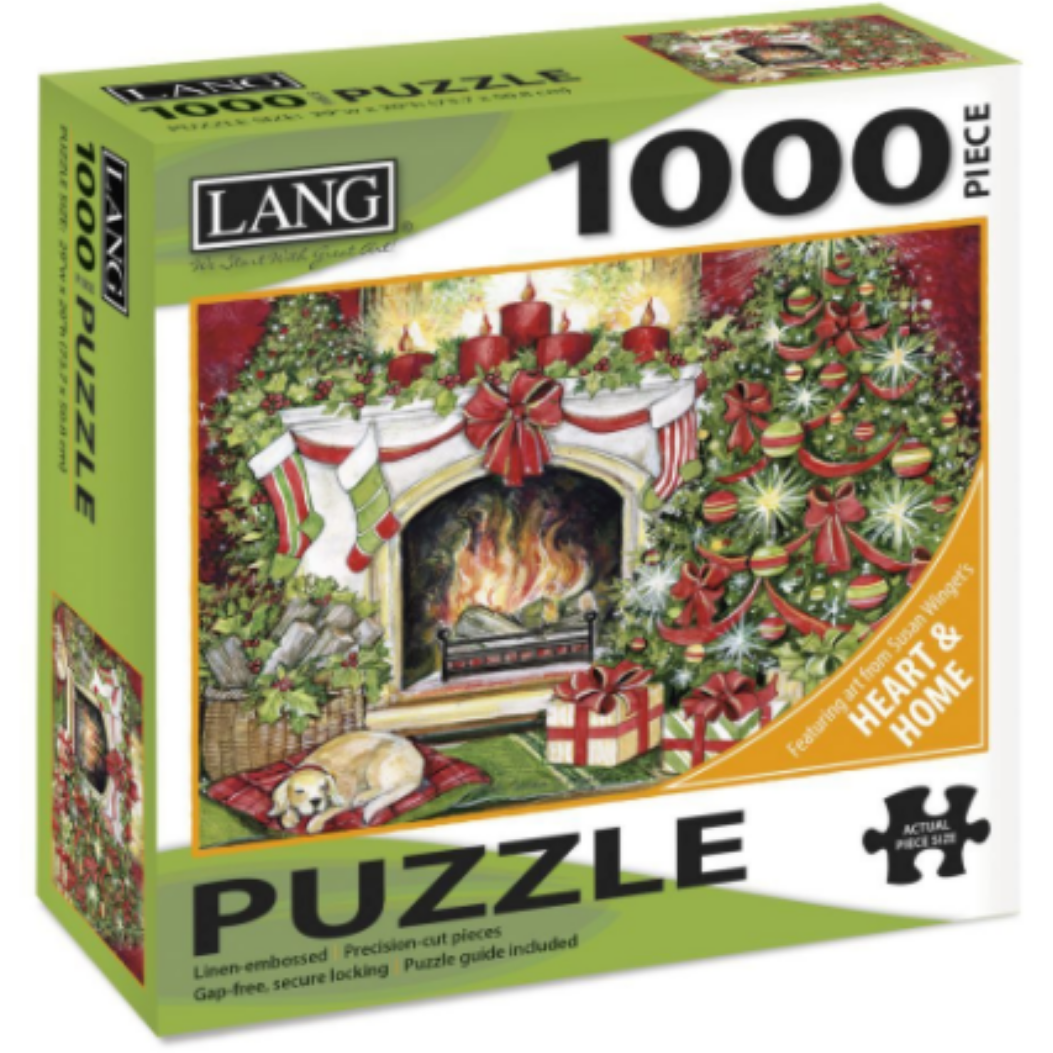Christmas Warmth 1000 Piece Puzzle by Susan Winget