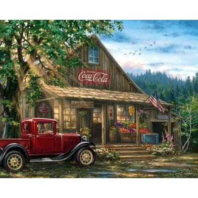 Country General Store Springbok Puzzle 1000 Pcs