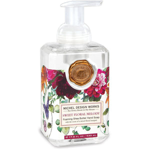 Sweet Floral Melody Foaming Soap