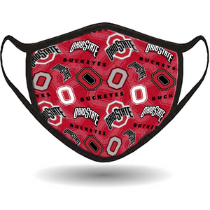 Ohio State Face Mask