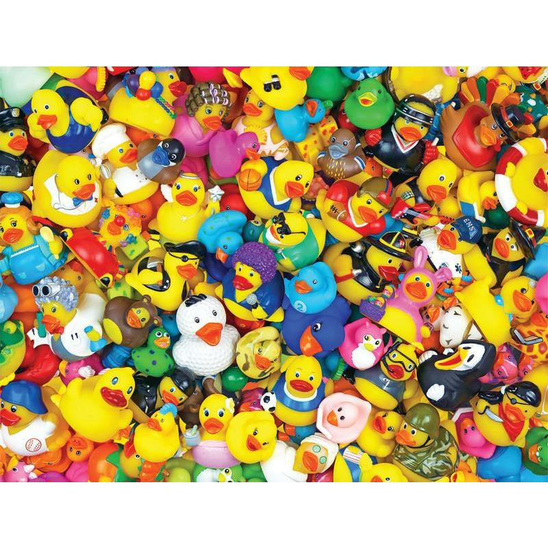 Funny Duckies 400 Pc Family Puzzle