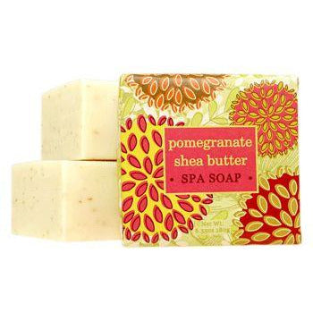 1 9 Oz Shea Butter Soap Pomegranate